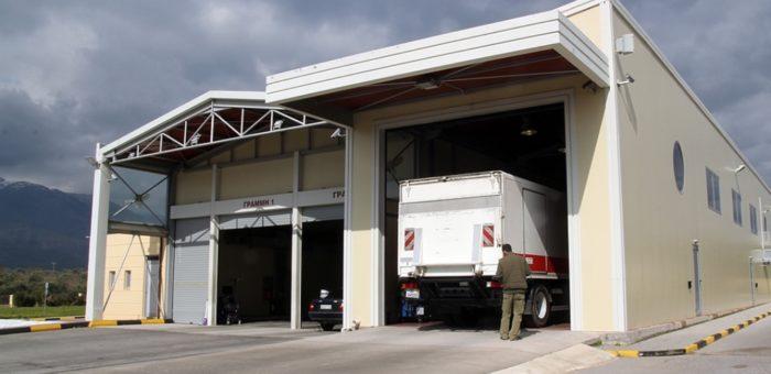 Κτεο Λακωνίας Αρκαδίας-Κατασκευή τμήματος για βαρέα οχήματα